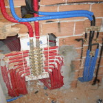 collettore modul per impianto di riscaldamento tradizionale a radiatori