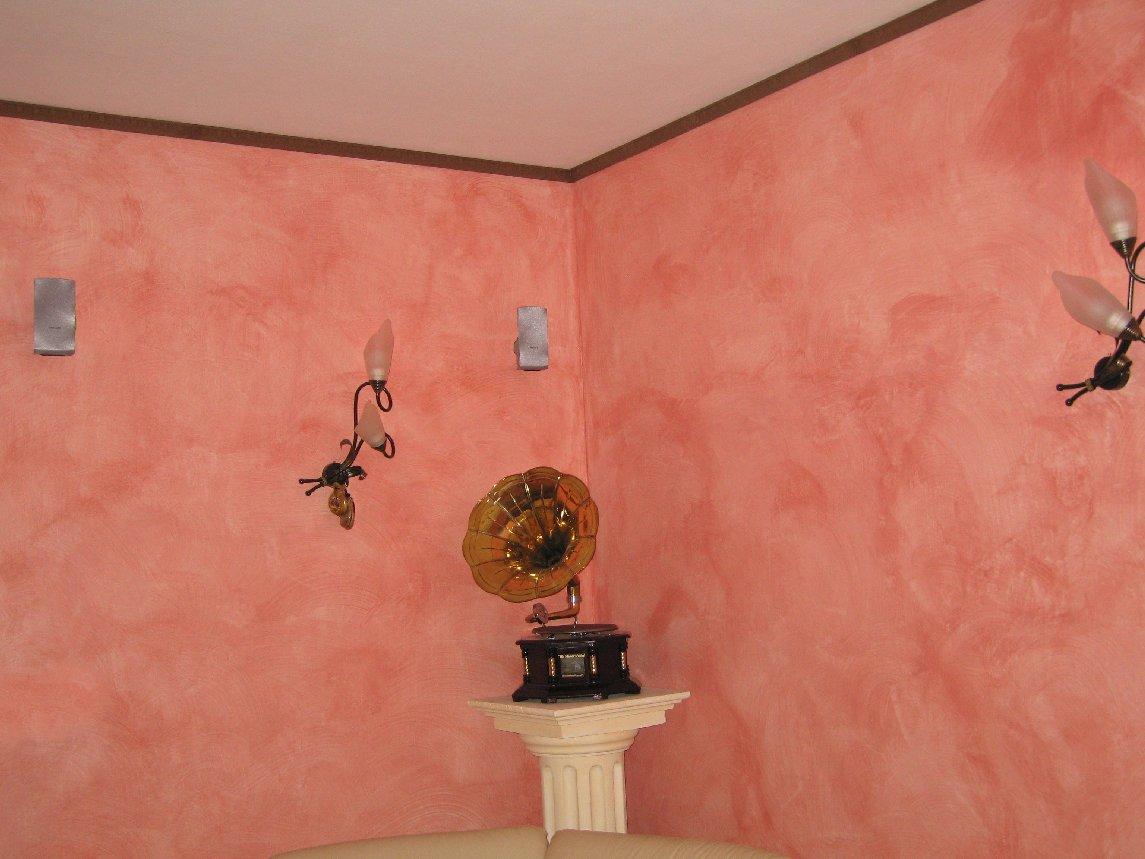 Velatura a pennello for Pittura per interni con brillantini