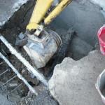 12 inizio opere di riempimento scavo