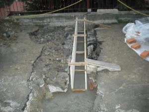 13 armatura nuova cunetta di recupero acque piovane