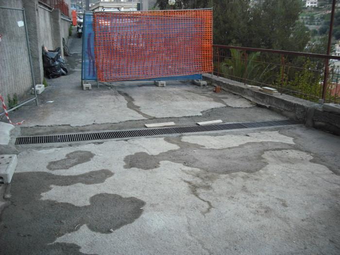 14 lavoro ultimato pronto per asfaltatura