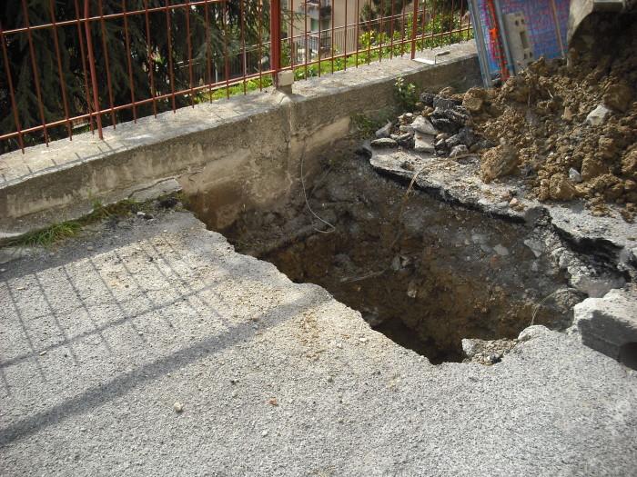 3 inizio opere di scavo